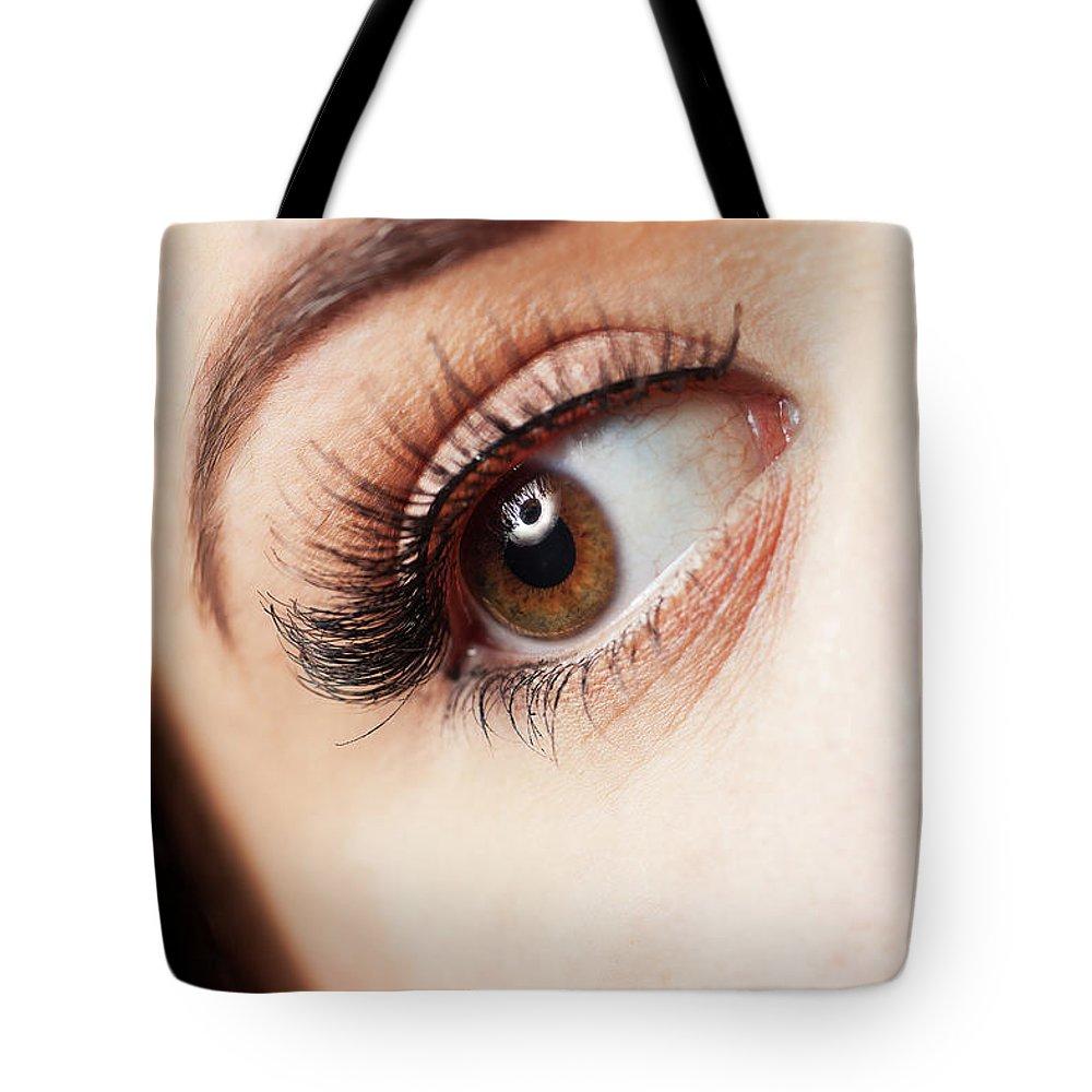 Eye Ball Photographs Tote Bags