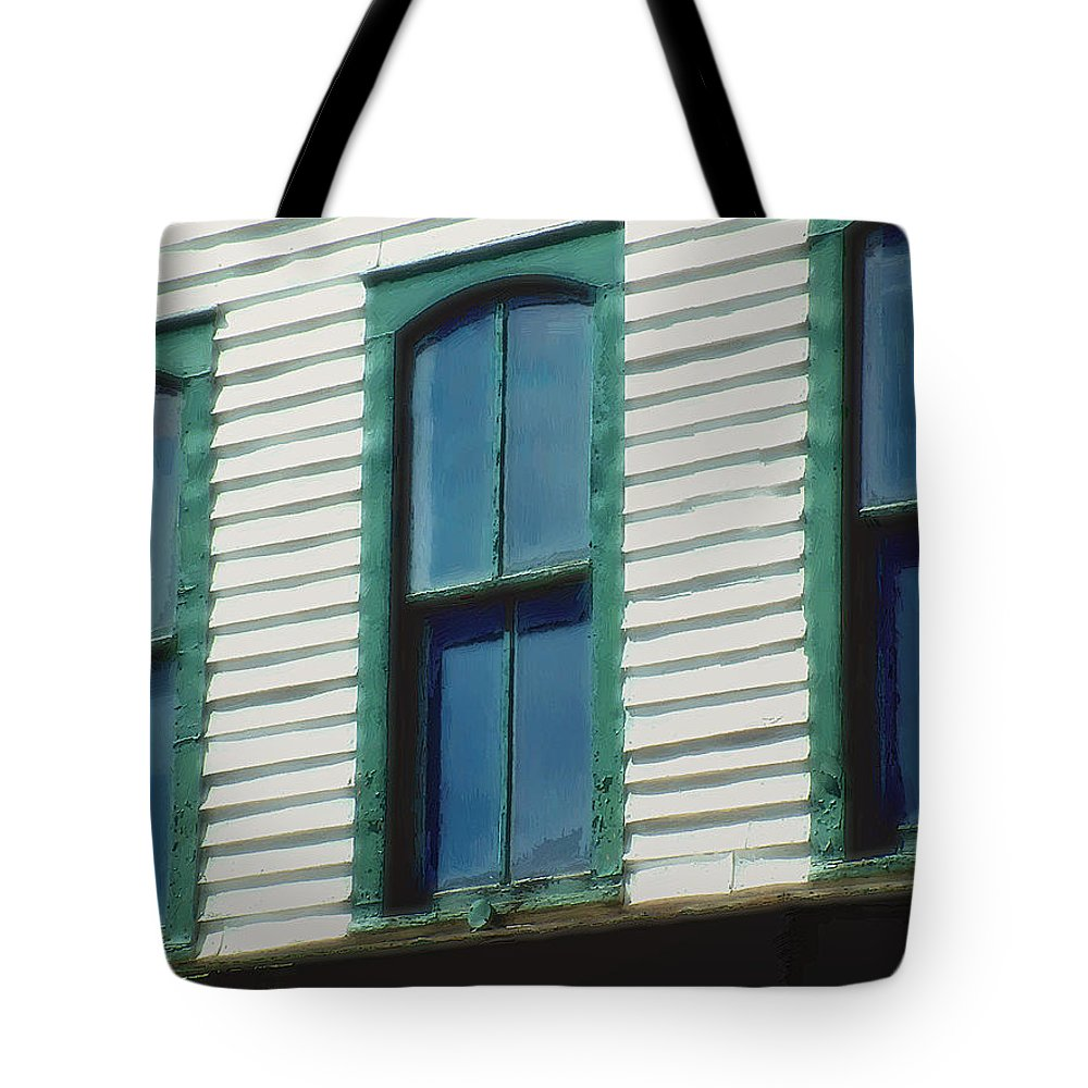 Afternoon Tote Bag featuring the digital art Eyes Of The West by RC DeWinter