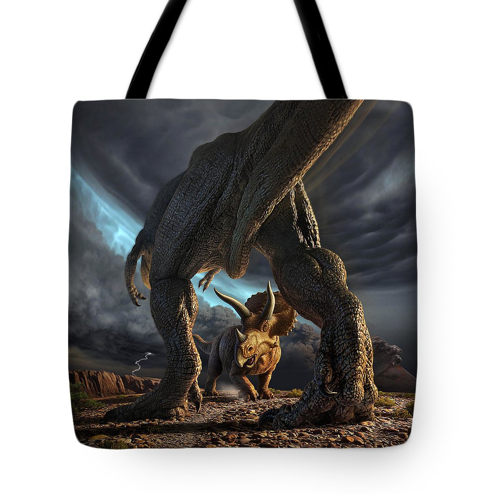 Extinct And Mythical Tote Bags