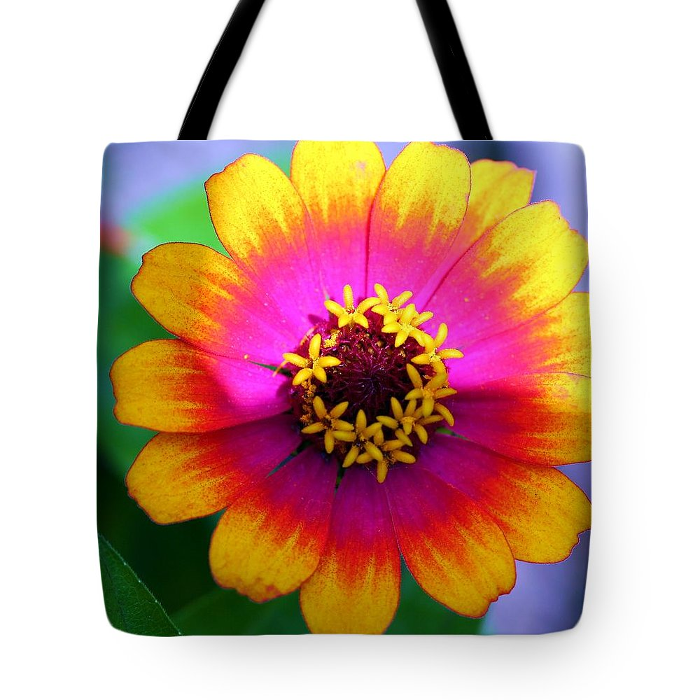 Flower Tote Bag featuring the photograph Face The Sun by Mitch Cat