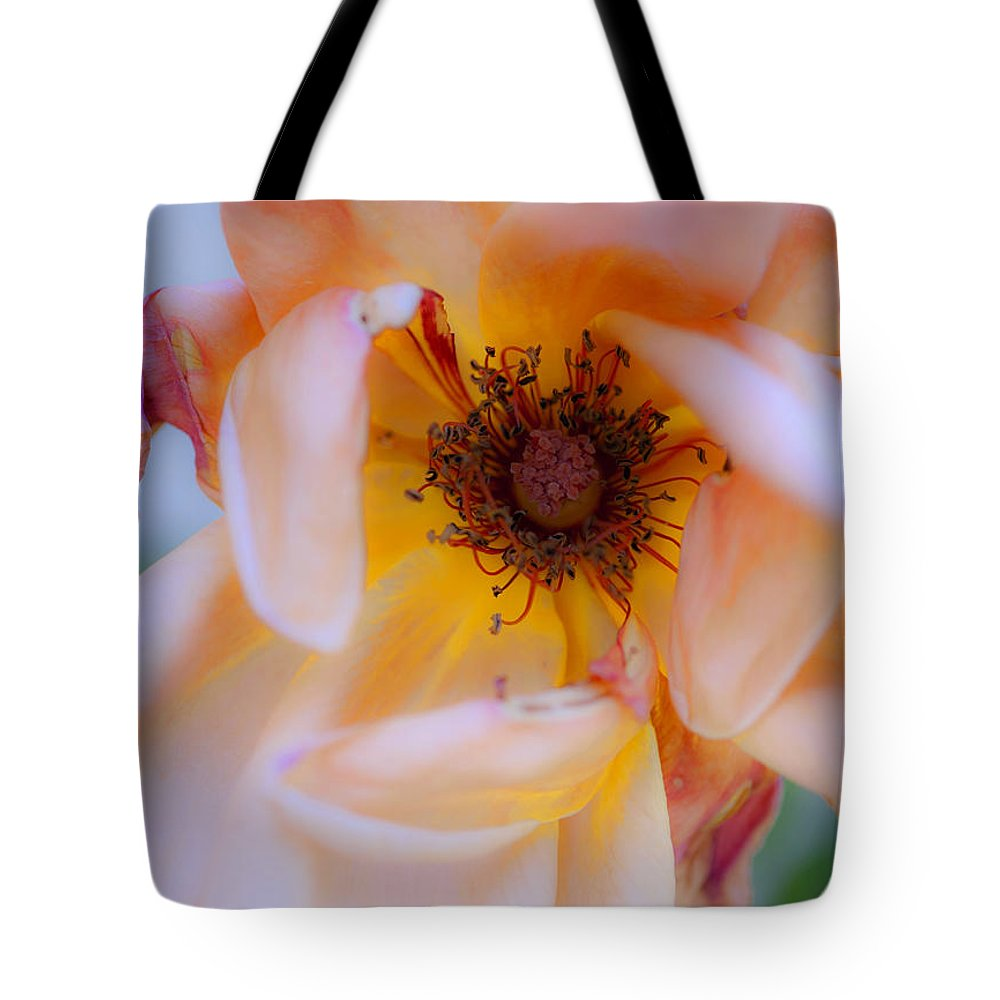 Flower Tote Bag featuring the photograph Fade Away by Stephen Anderson