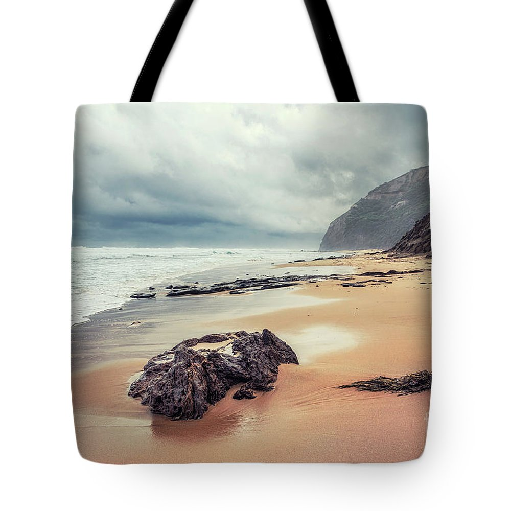 Kremsdorf Tote Bag featuring the photograph Fade Into The Ocean by Evelina Kremsdorf