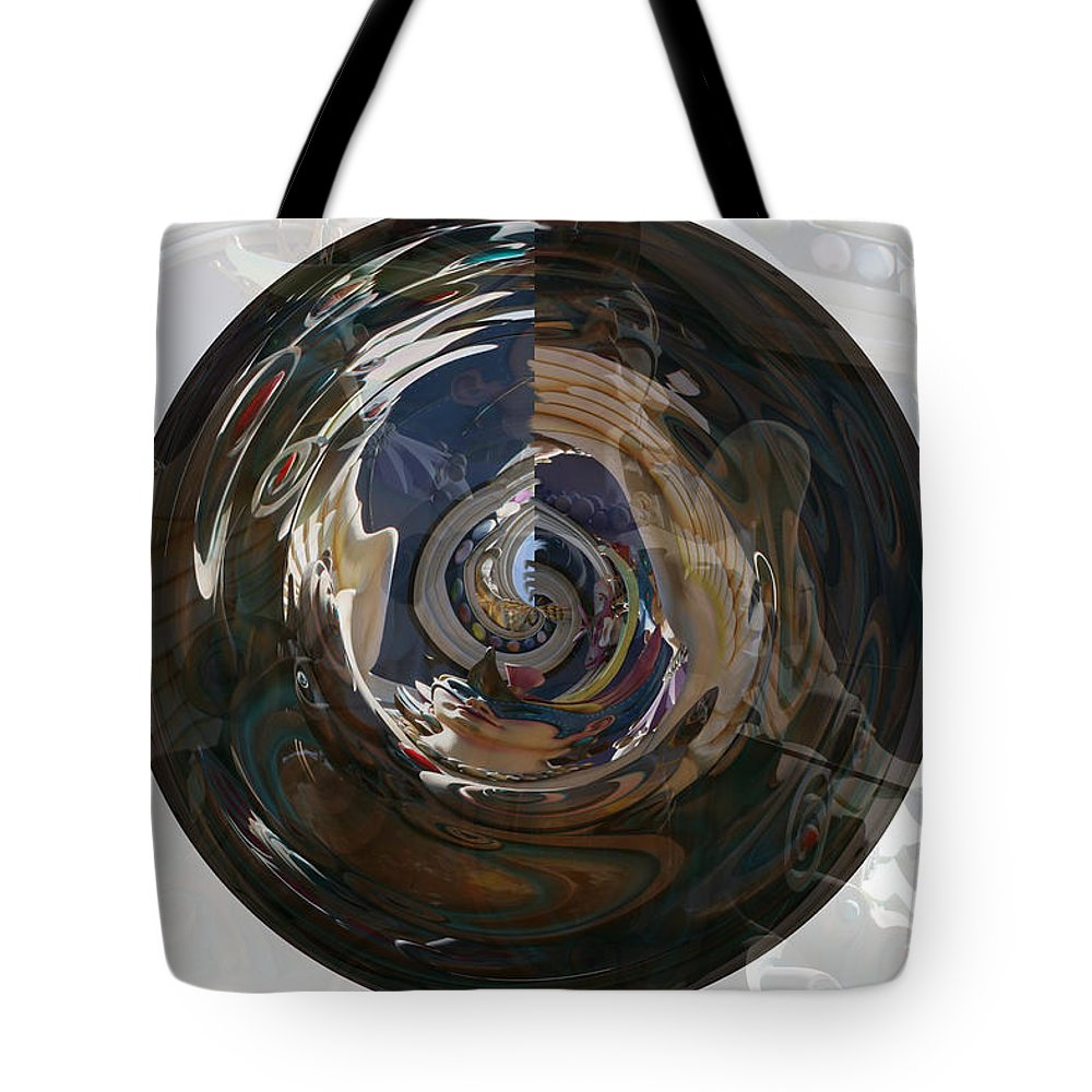 Women Lady Girl World Space Portal Relm Escape Abstract Tote Bag featuring the photograph Faded Lady by Andrea Lawrence