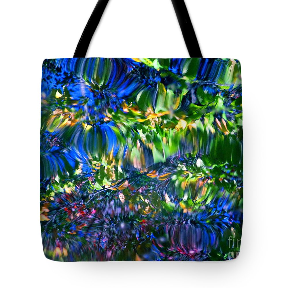 Water Tote Bag featuring the photograph Faerie Frenzy by Sybil Staples