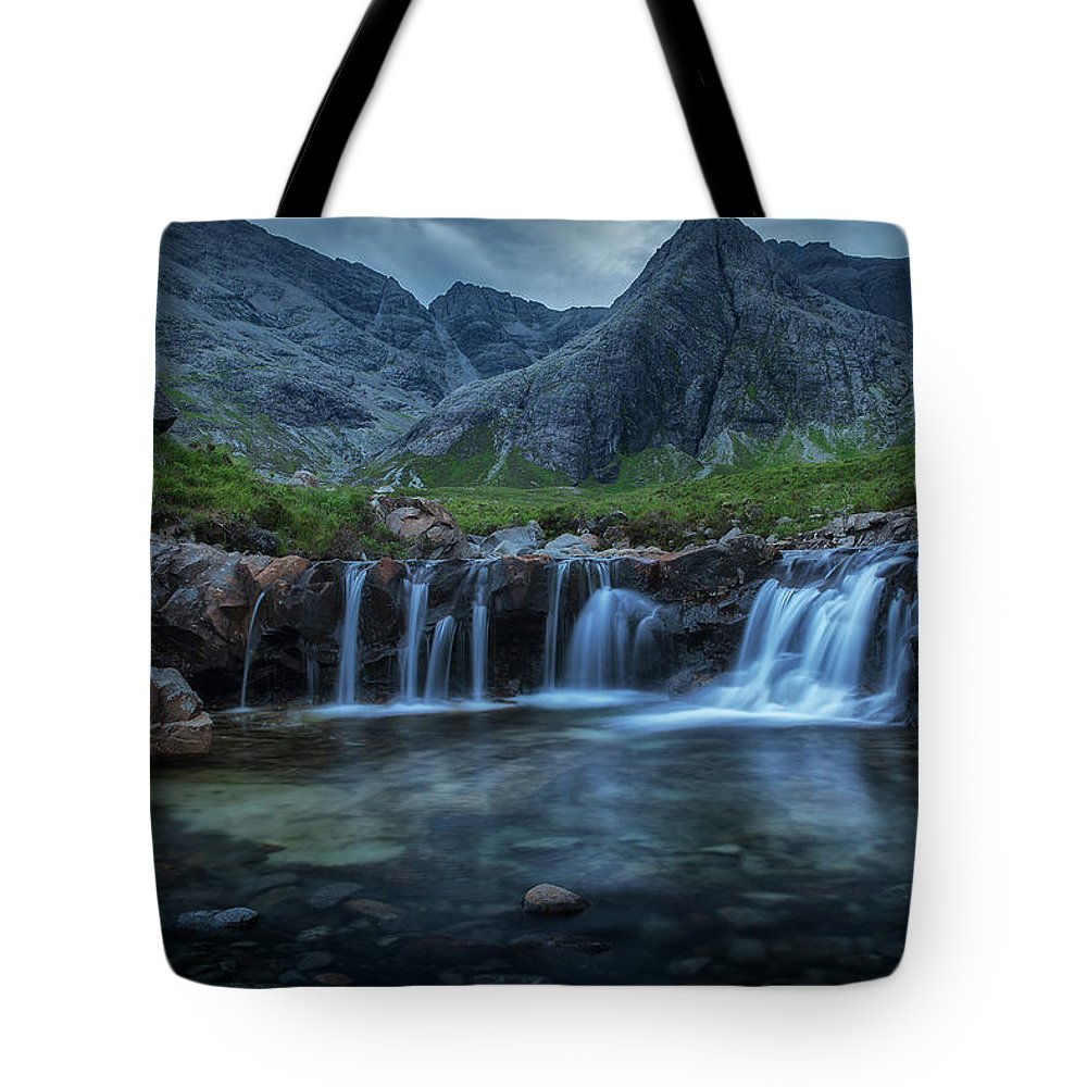 Europe Tote Bag featuring the photograph Fairy Pools by Christian Heeb
