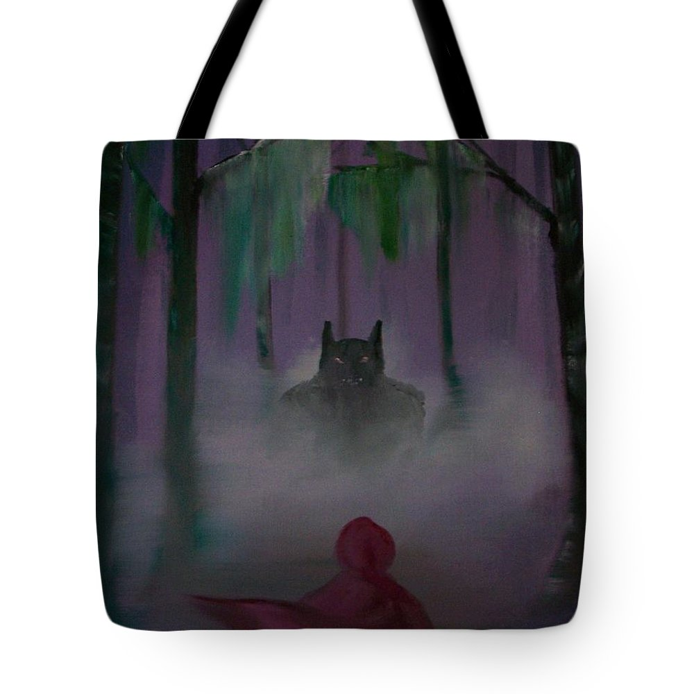 Tote Bag featuring the painting Fairy Tale by Dell Justice