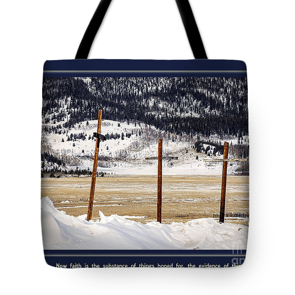 Concept Tote Bag featuring the photograph Faith by Janice Pariza