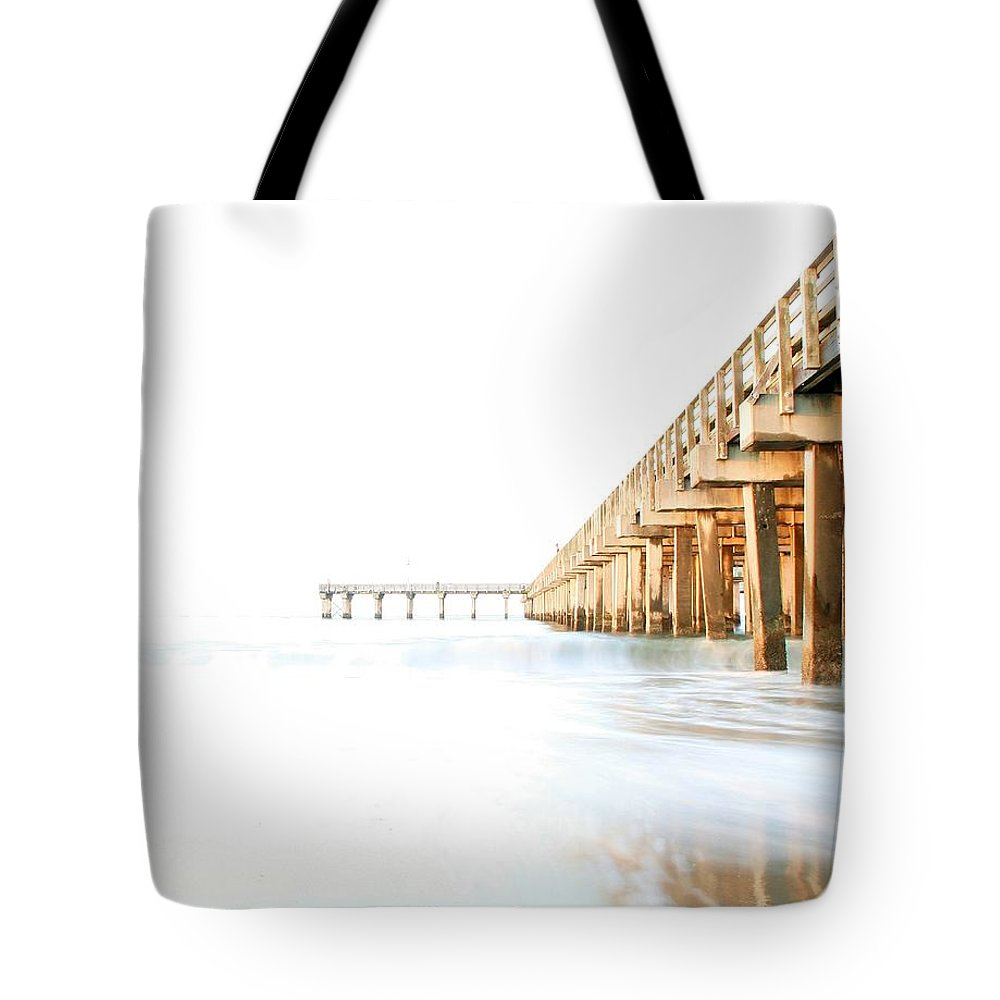 High Key Tote Bag featuring the photograph Faith by Mitch Cat