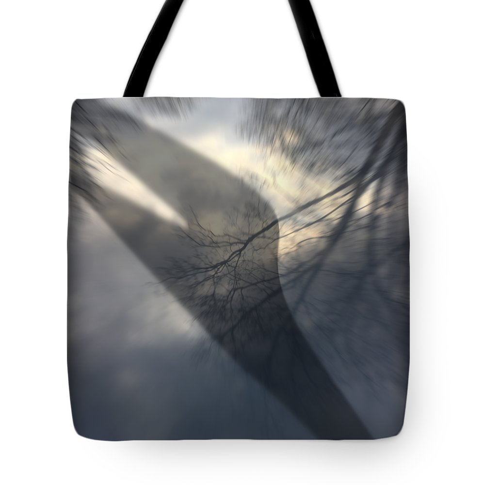 Tote Bag featuring the digital art Fall by Arnas Dilys