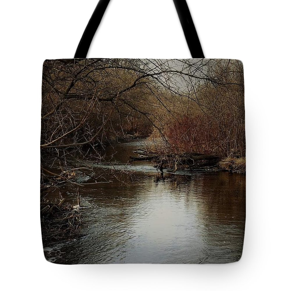 Fall Tote Bag featuring the photograph Fall Calm by Melissa Haney