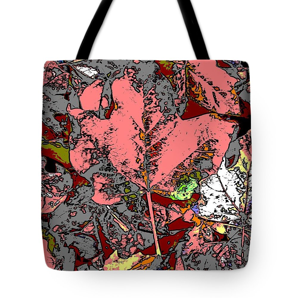 Fall Tote Bag featuring the digital art Fall Flourish by Tim Allen