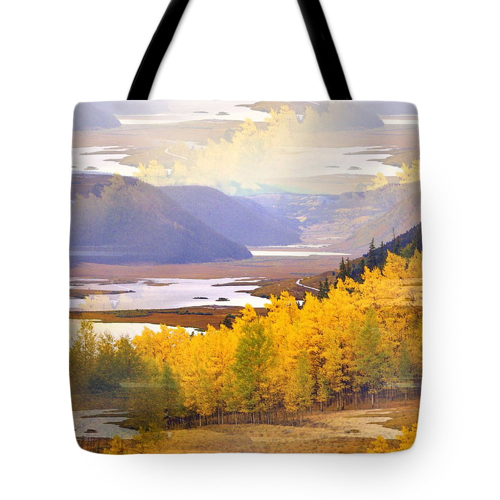 Fall Tote Bag featuring the photograph Fall In The Rockies by Marty Koch