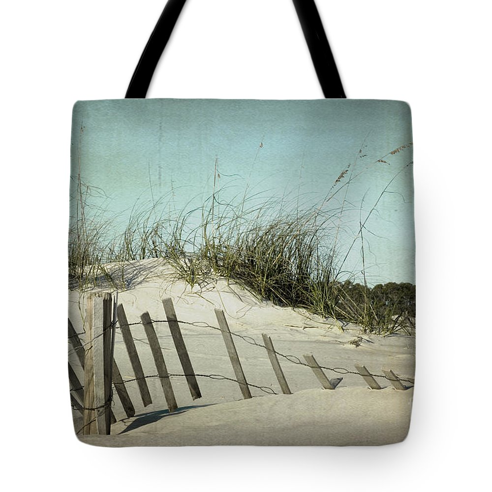 Sand Tote Bag featuring the photograph Fallen by Joan McCool