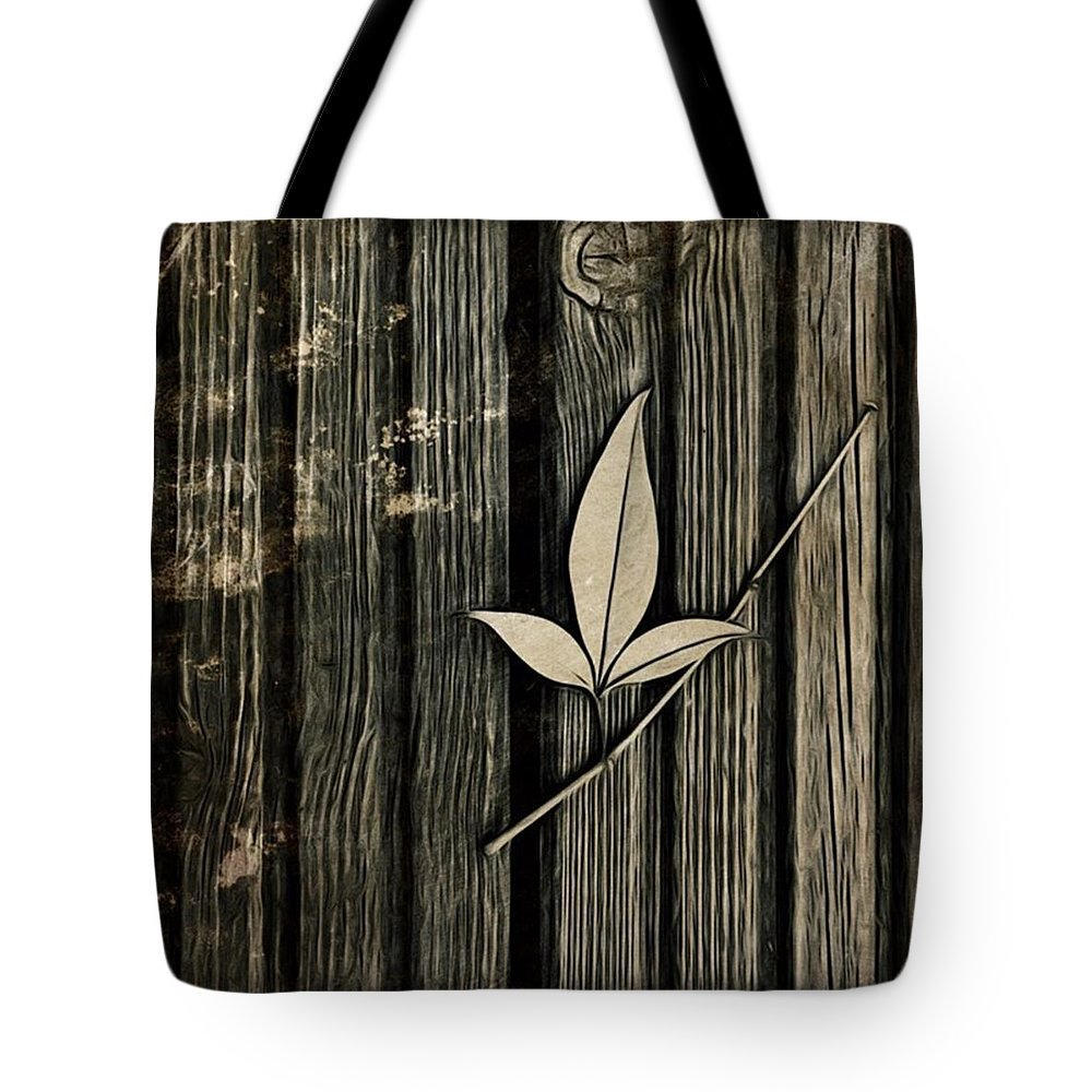 Icolorama Tote Bag featuring the photograph Fallen Leaf by John Edwards