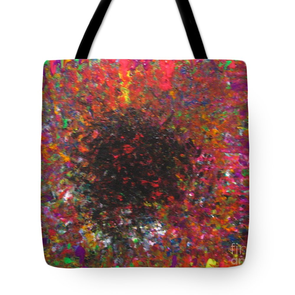 Falling Tote Bag featuring the painting Falling by Jacqueline Athmann