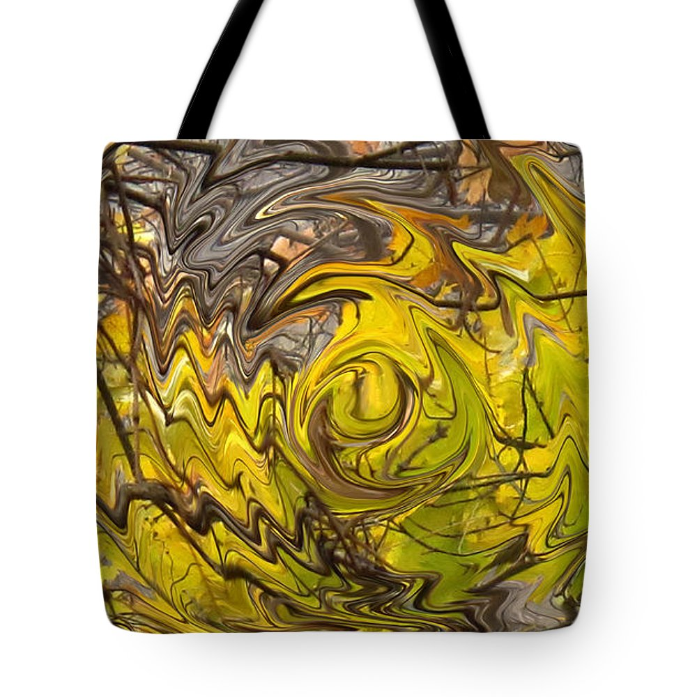Fall Tote Bag featuring the photograph Falling Leaves by Ian MacDonald