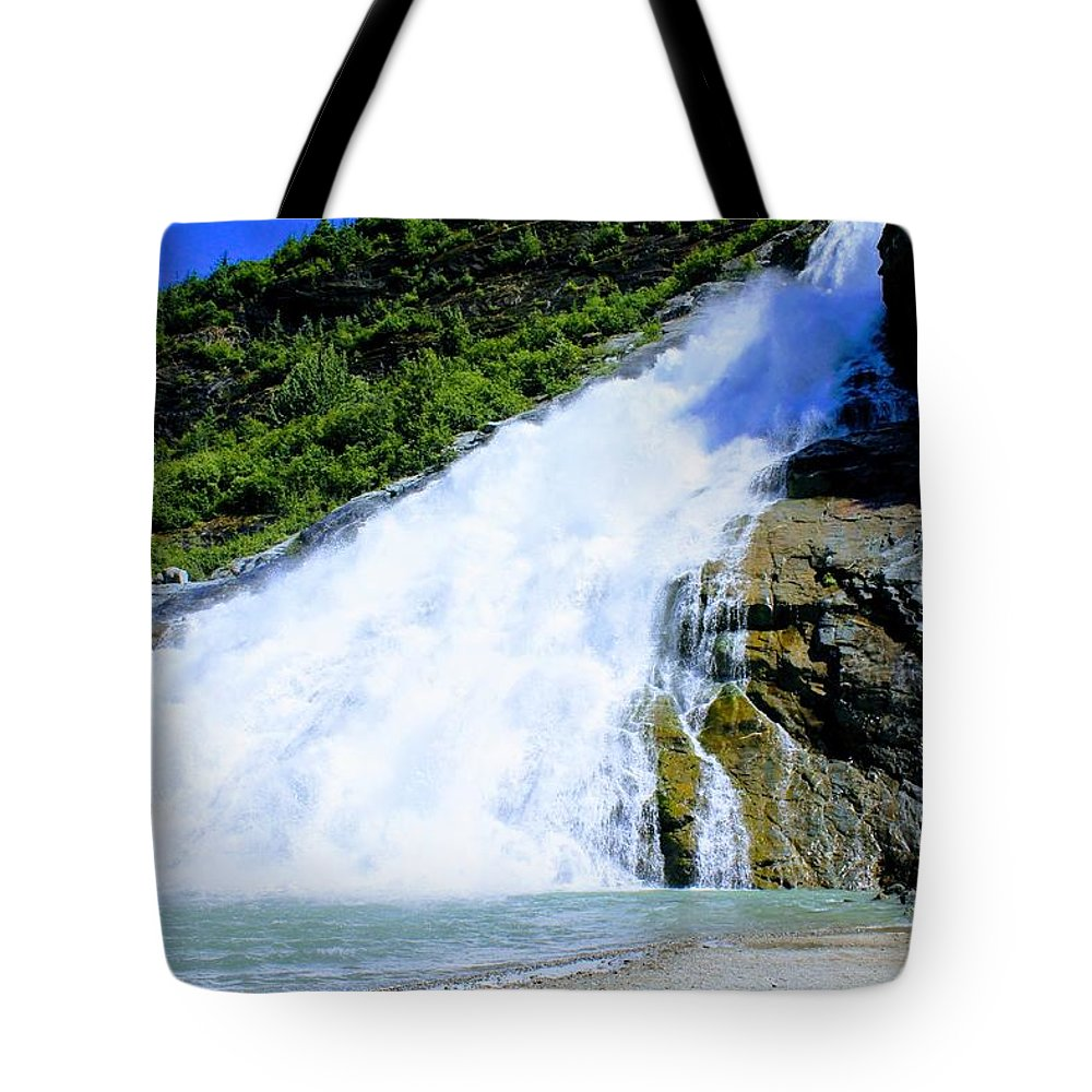 Tote Bag featuring the photograph Falls by Jack Ecke