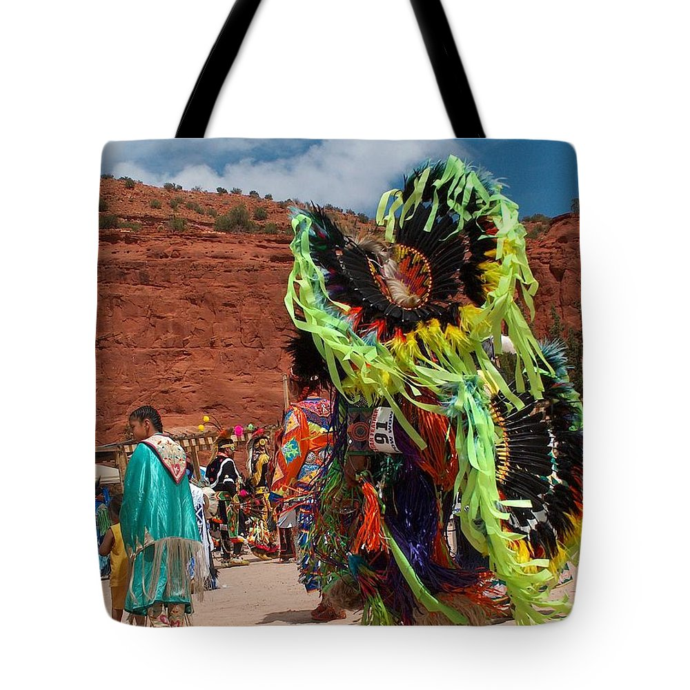 Fancy Dancer Tote Bag featuring the photograph Fancy Dancer by Tim McCarthy