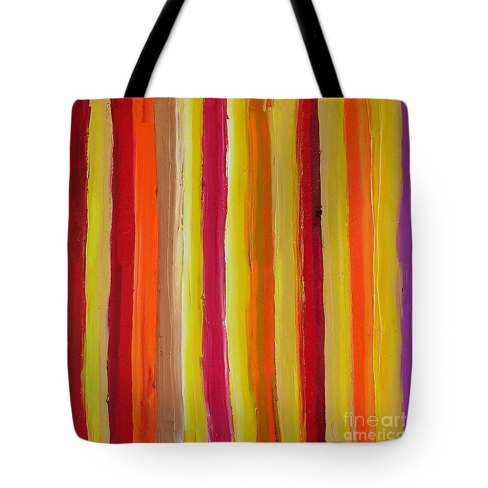Fantasy Tote Bag featuring the painting Fantasy by Dawn Hough Sebaugh