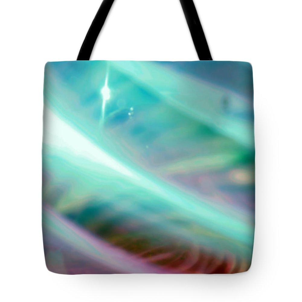Digital Art Tote Bag featuring the photograph Fantasy Storm by Scott Wyatt