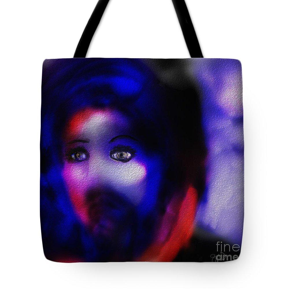 Women Tote Bag featuring the digital art Farewell by Shelley Jones
