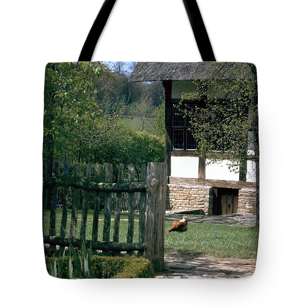 German Tote Bag featuring the photograph Farm by Flavia Westerwelle