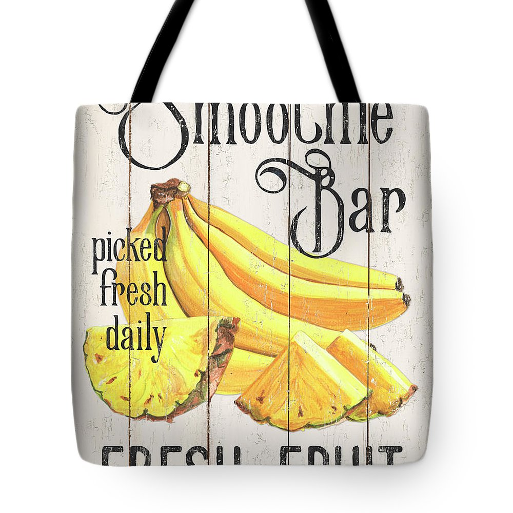Pineapple Tote Bag featuring the painting Farm Garden 2 by Debbie DeWitt