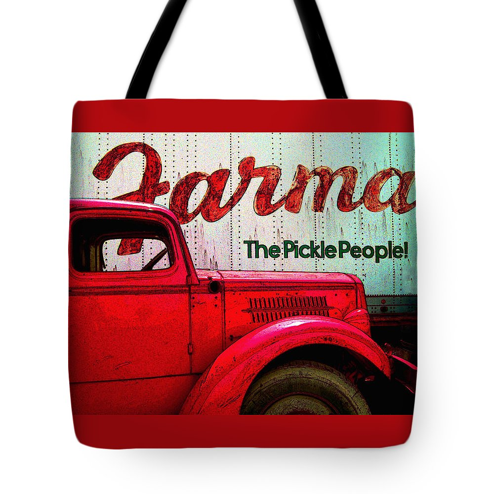 Trucks Tote Bag featuring the photograph Farman by Jeff Burgess