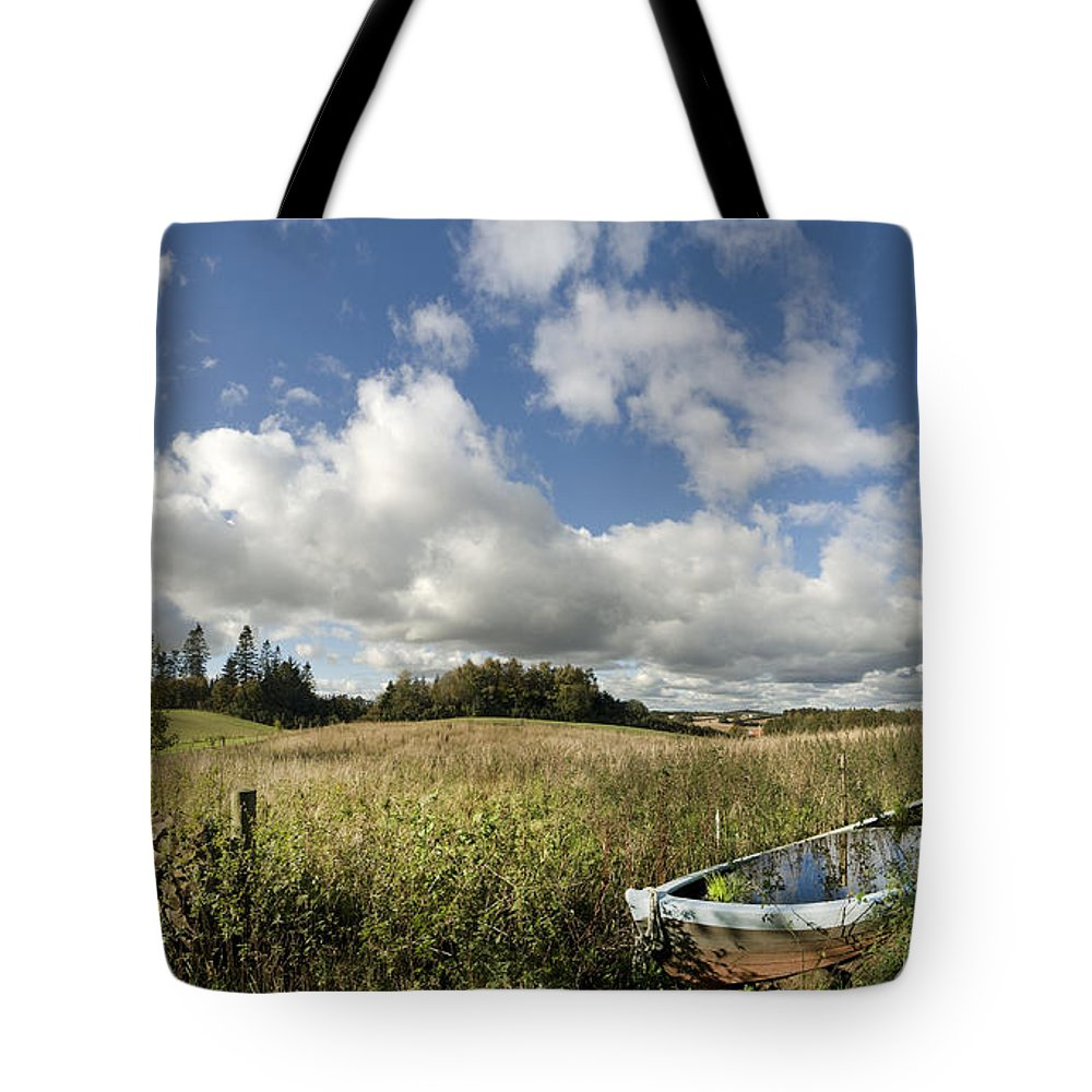 Boat Tote Bag featuring the photograph Farmers Boat by Robert Lacy