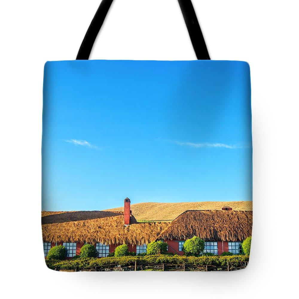 Ecuador Tote Bag featuring the photograph Farmhouse In Ecuador by Jess Kraft