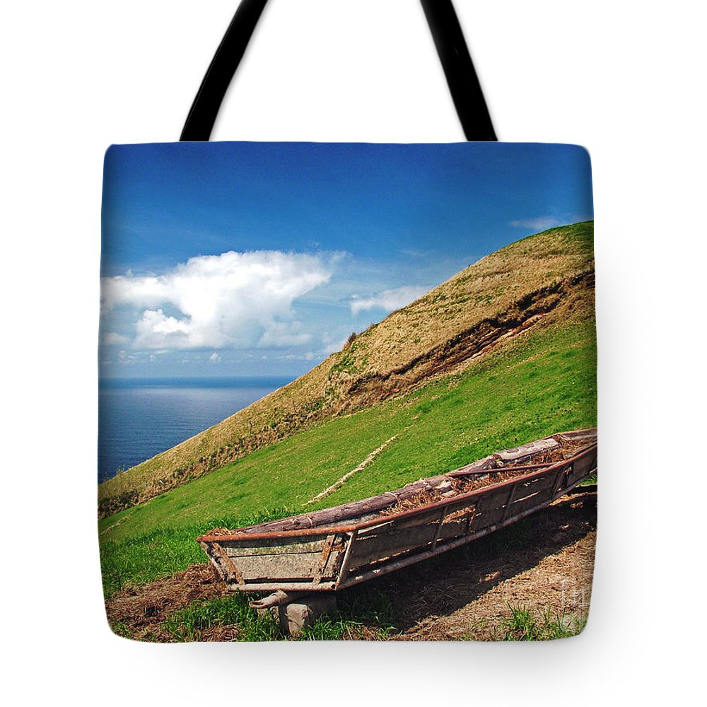 Europe Tote Bag featuring the photograph Farming In Azores Islands by Gaspar Avila
