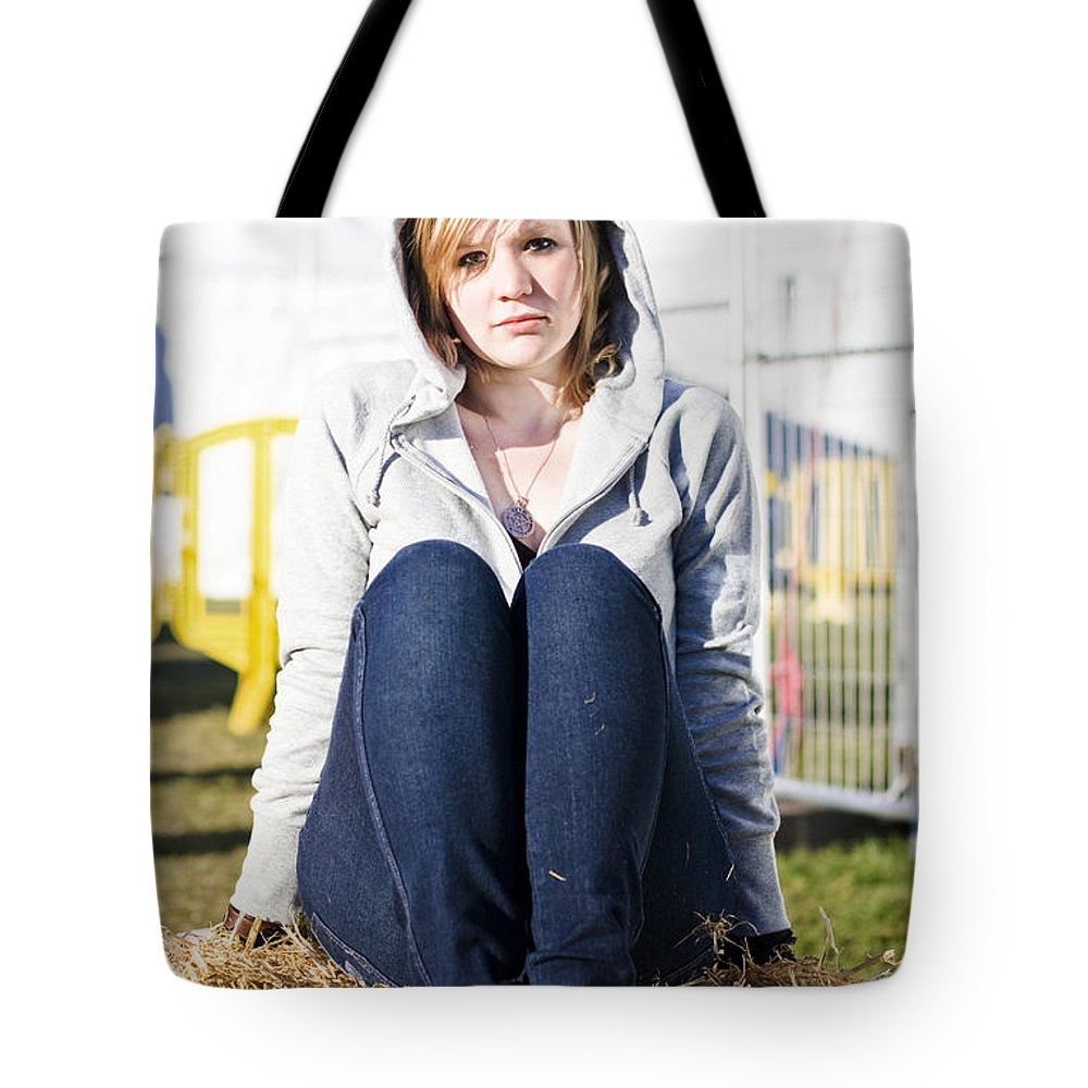 Adult Tote Bag featuring the photograph Farmland Female by Jorgo Photography - Wall Art Gallery