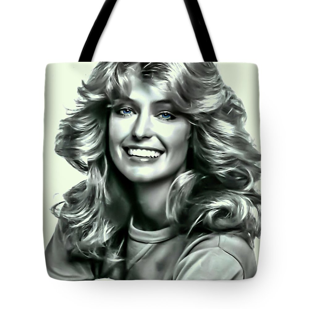 Farrah Fawcett Tote Bag for Sale by Movie Poster Prints