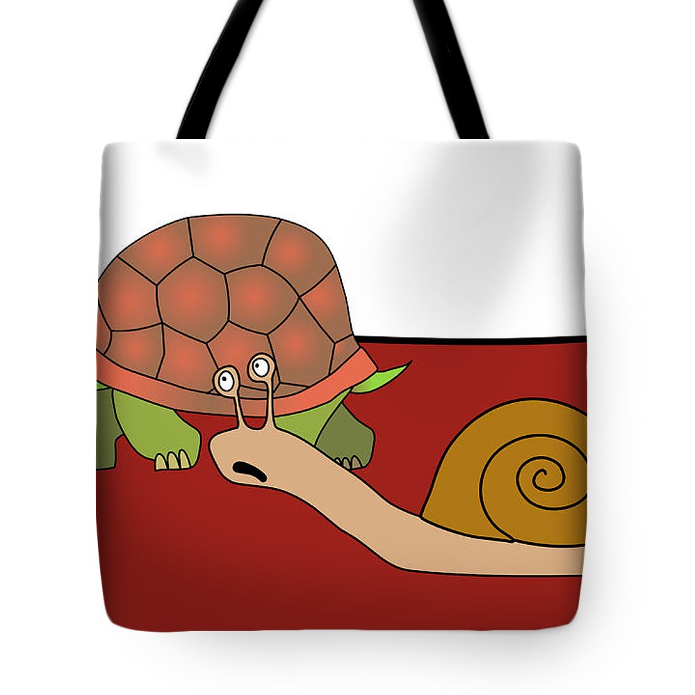 Black Humor Tote Bag featuring the digital art Fast And Furious by Michal Boubin