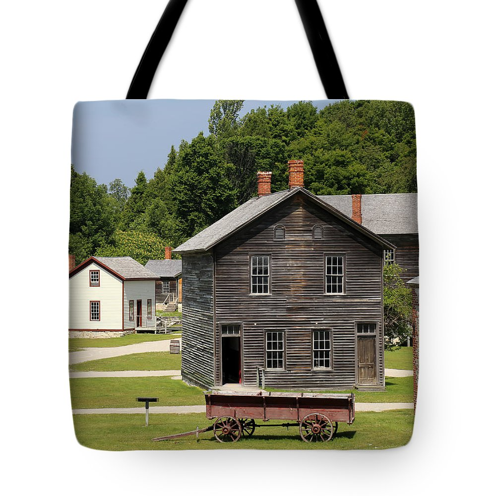 Fayette State Park Tote Bag featuring the photograph Fayette State Park by Mary Bedy