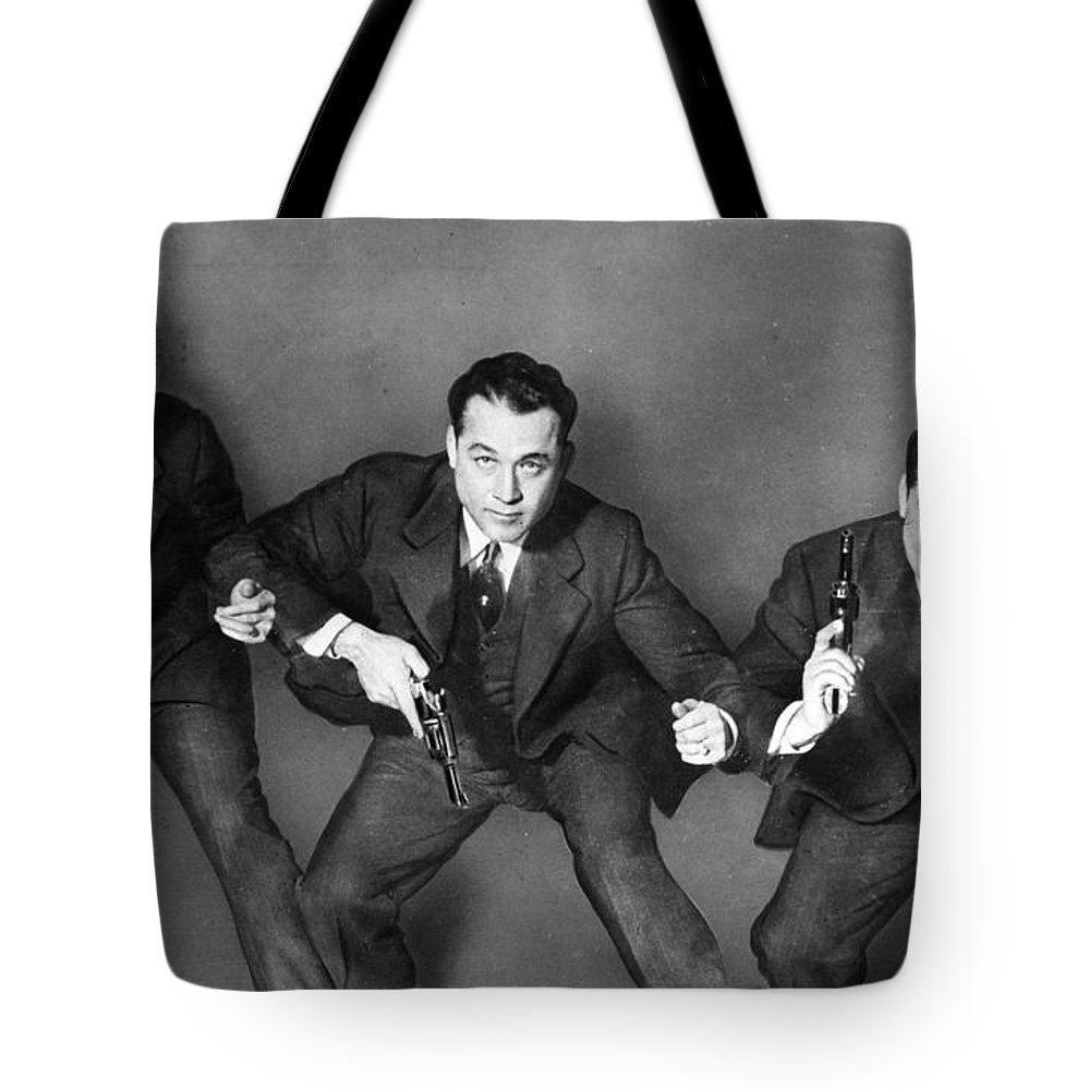 1945 Tote Bag featuring the photograph Fbi Agent, 1945 by Granger