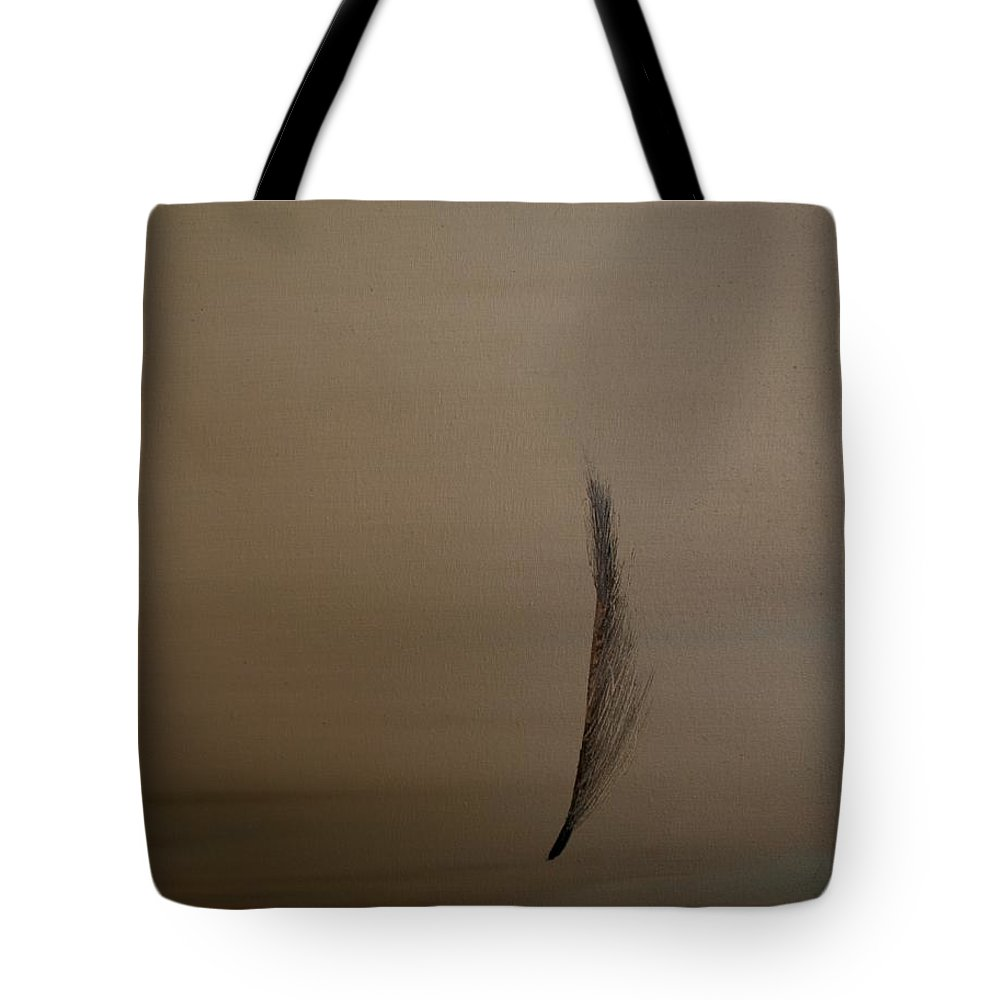 Feather Tote Bag featuring the painting Feather by Jack Diamond