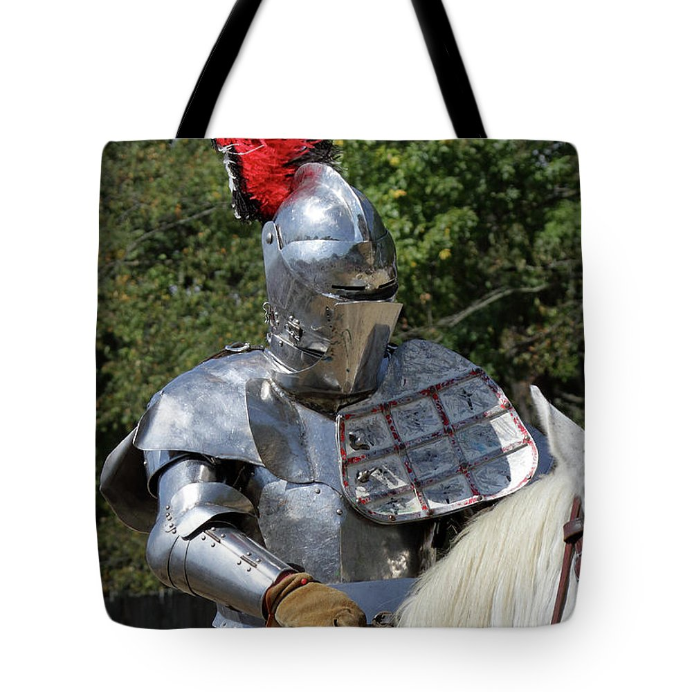 Suit Of Armor Tote Bag featuring the photograph Feather by John Wijsman