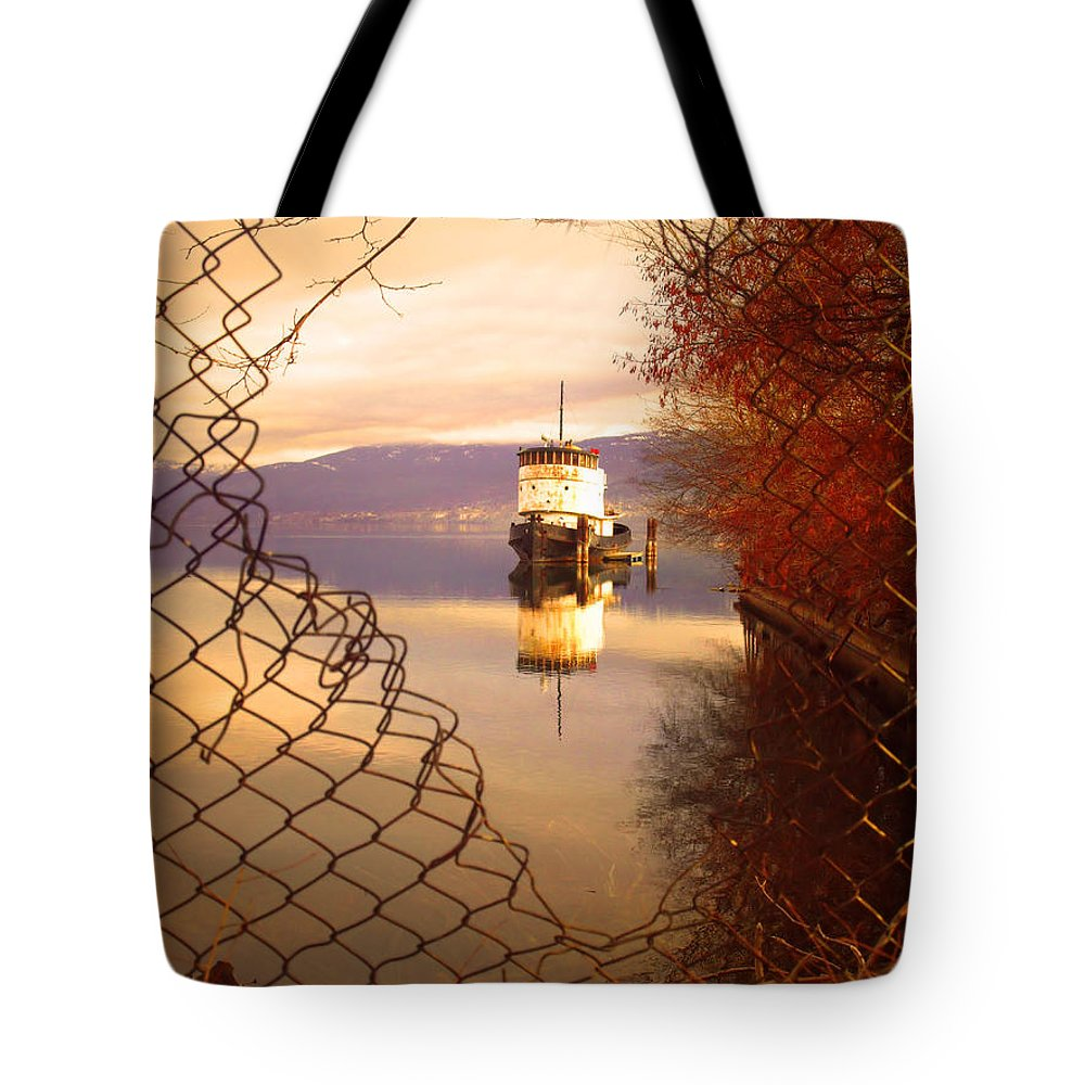 Boat Tote Bag featuring the photograph February 13 2010 by Tara Turner