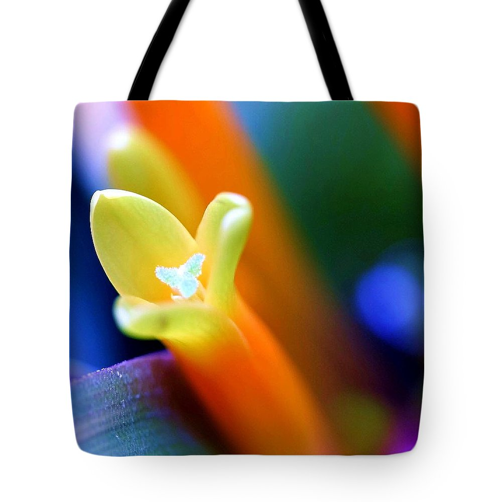 Flower Tote Bag featuring the photograph Feelings by Mitch Cat