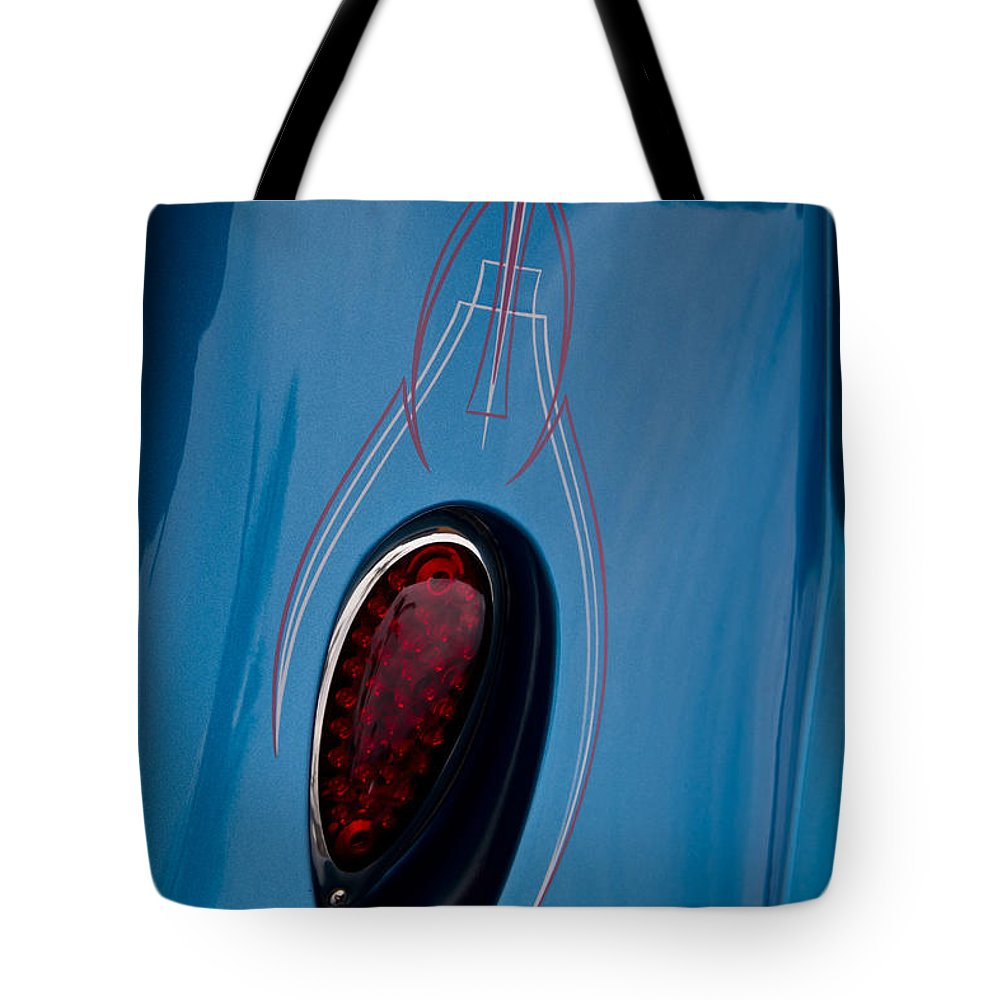 Fender Tote Bag featuring the photograph Fender Details by Roger Mullenhour