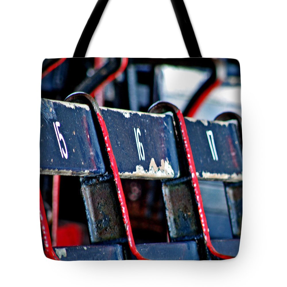 Fenway Park Tote Bag featuring the photograph Fenway by Donna Shahan