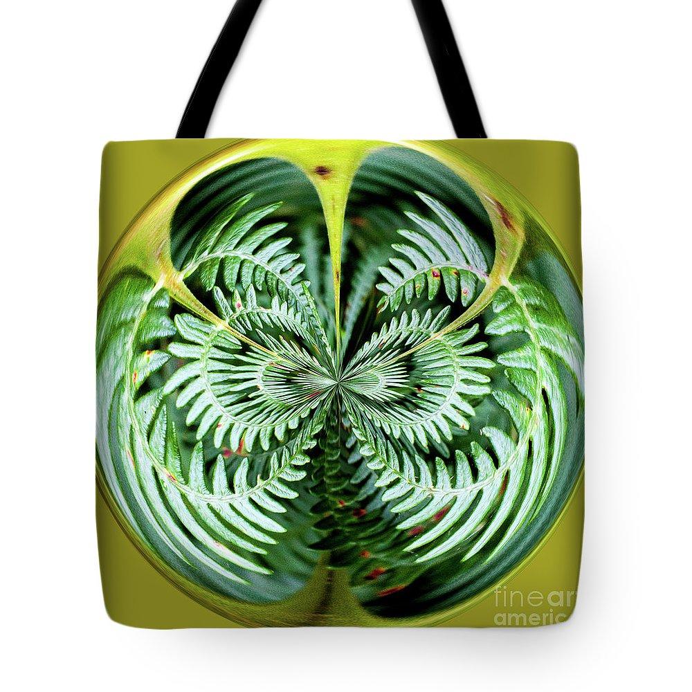 Fern Tote Bag featuring the digital art Fern by George Cathcart