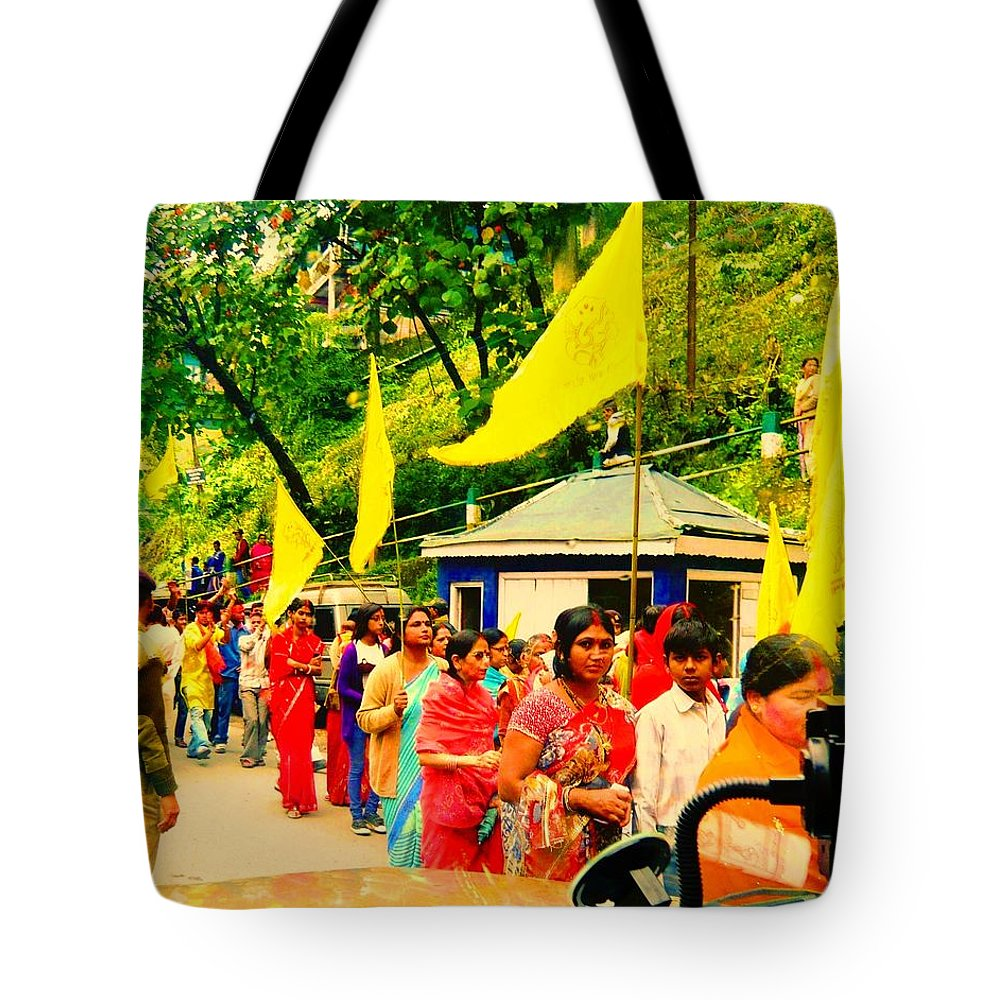 Photography Tote Bag featuring the photograph Festival by Piety Dsilva