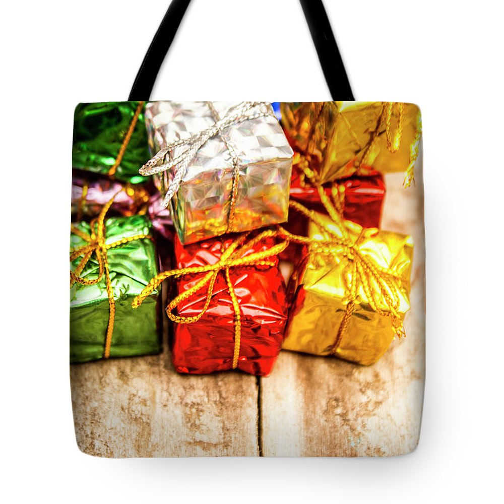 Gift Wrap Photographs Tote Bags