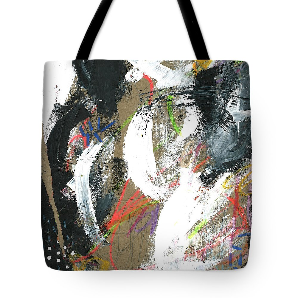 Paint Tote Bag featuring the painting Festivities by Katie Gebely