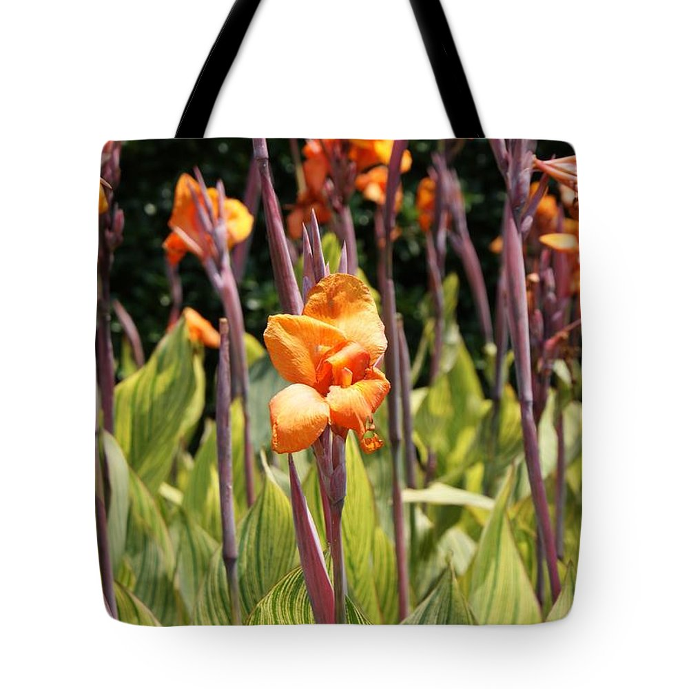 Floral Tote Bag featuring the photograph Field For Iris by Shelley Jones