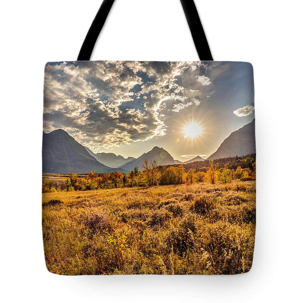 Fields Tote Bag featuring the photograph Fields Of Gold by Pierre Leclerc Photography