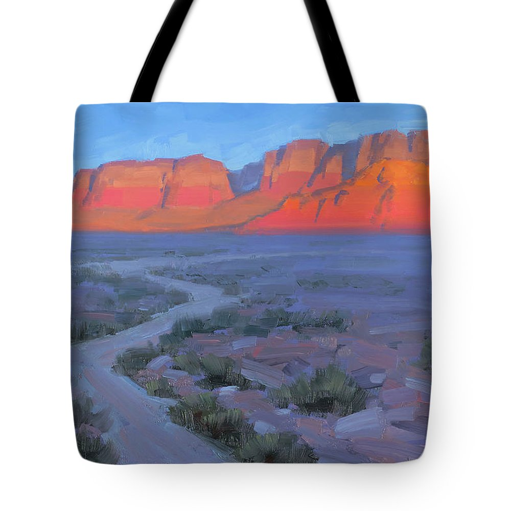 Vermillion Cliffs Tote Bags