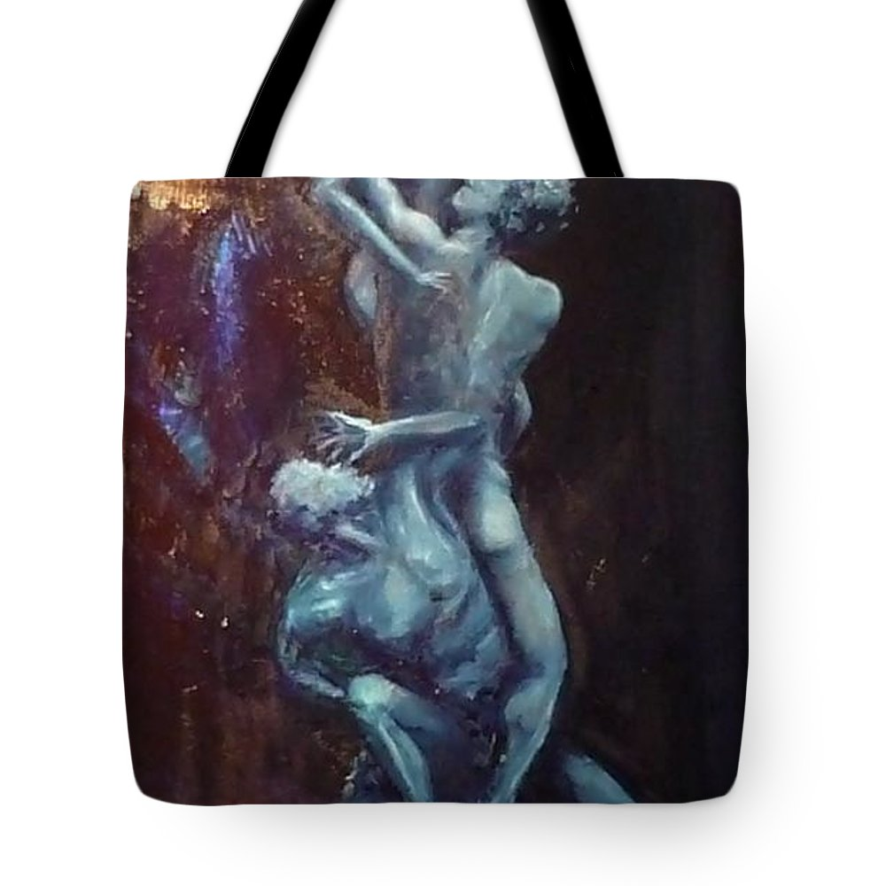 Classics Tote Bag featuring the painting Figurative IIi by Lizzy Forrester